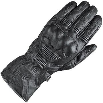 Held Touch Touchscreen Compatible Leather Motorcycle Motorbike Glove - Black